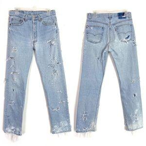 Levi's Vintage 501 Denim Jeans Classic Straight 30